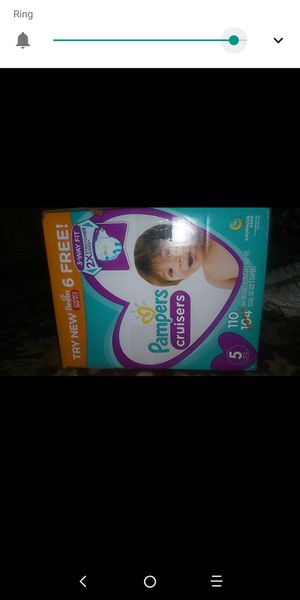 Pampers 7 boxes for Sale in Dallas, TX
