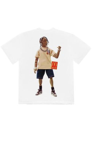 Travis Scott x McDonald's action figure T-Shirt for Sale in Puyallup, WA