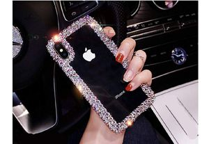 Sparkle Bling Case Luxury Shiny Crystal Rhinestone Diamond Bumper Clear Protective Case Cover For iPhone 8 Plus/iPhone 7 Plus for Sale in Hayward, CA