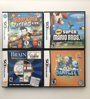 Nintendo DS games (e.g., Diddy Kong Racing & Super Mario Brothers) for Sale in Nashville, TN