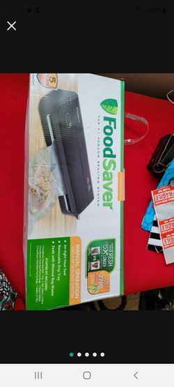 Foodsaver FM2000 Vacuum Sealer System for Sale in Hermosa Beach,  CA