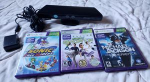 Kinect and 3games for Sale in Mesa, AZ
