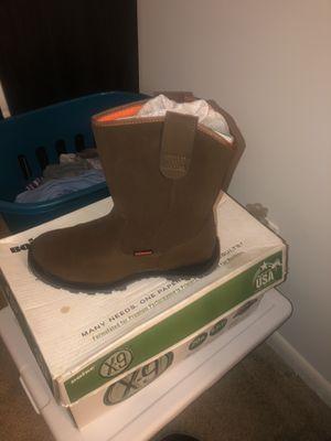 Brand new water proof steel toe work boot for Sale in Virginia Beach, VA