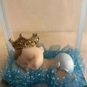 Baby Boy Figurine Statue Baby Shower Gift Expecting Mother's New Born Everlasting Memory for Sale in Marina del Rey, CA