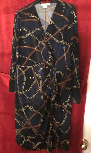MICHAEL Michael Kors Chain-Print Twisted Dress for Sale in Raleigh, NC