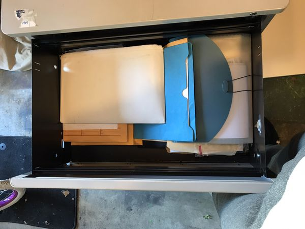 Commercial Heavy Duty Two Drawer Filing Cabinet Height