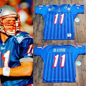 Patriots jersey starter wilson nike bledsoe Brady bruins redsox celtics for Sale in Henderson, NV