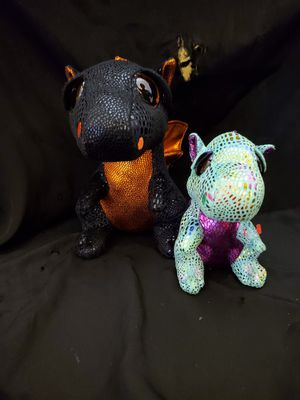 2 ty beanie boo dragons for Sale in Port St. Lucie, FL