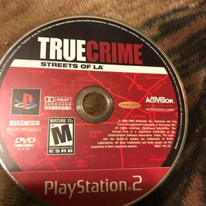 """!! PS2 True Crime """"Streets of L.A."""" PlayStation 2 Video Game for Sale in Los Angeles, CA"""