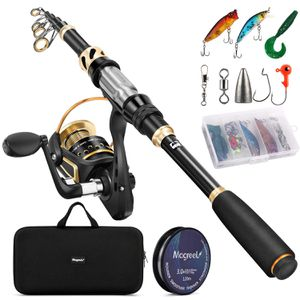 Fishing Rod and Reel Combo Set with Fishing Line, Fishing Lures for Sale in Los Angeles, CA