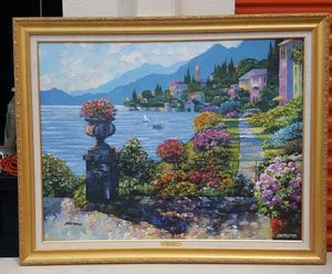 Varenna morning , by Howard Behrens for Sale in Washington, DC