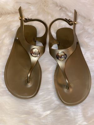Michael Kors Gladiator Sandals Size 6 for Sale in Buffalo, NY