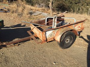 Old antique pick up bed trailer for Sale in Ione, CA