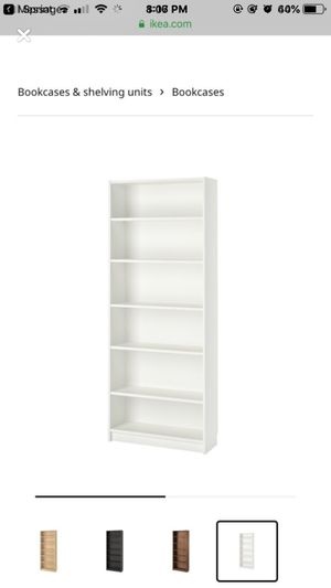 Ikea Billy bookshelf white for Sale in New York, NY