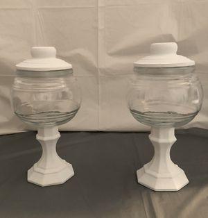 White Chalk Paint Jars Set for Sale in Riverton, UT