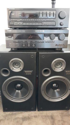 YAMAHA HTR 5250 & PIONEER SX-201 & TECHNICS SB-TD310 SPEAKERS for Sale in Peoria, AZ