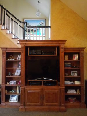 Ethan Allen French Country Pine Cabinetsv for Sale in Westlake, MD