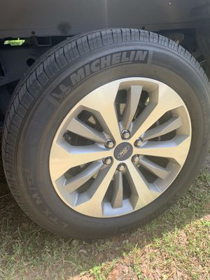2018 f150 rims and tires for Sale in Riverview, FL