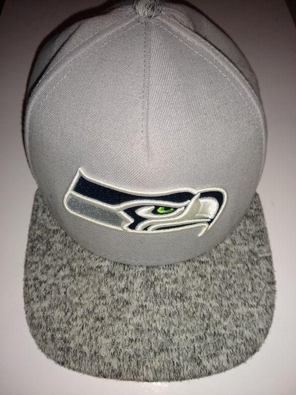 Seattle Seahawks gray hat