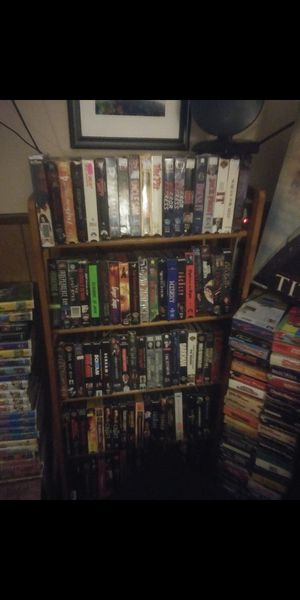 Horror vhs movies prices vary to many to list for Sale in Cleveland, OH