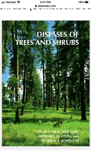 """Arborists reference book -""""Diseases of Trees and Shrubs"""" for Sale in Madera, CA"""