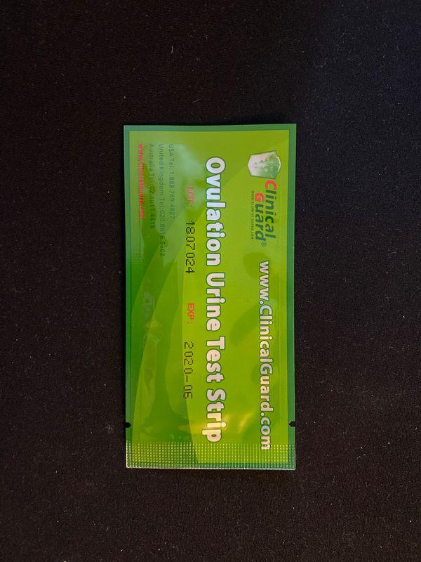 Ovulation urine test strips