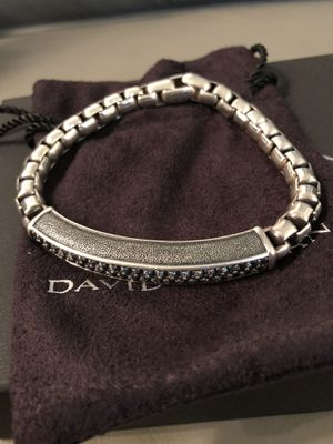 David Yurman Men Sapphire Bracelet for Sale in Las Vegas, NV
