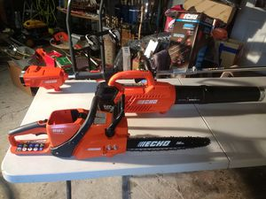 Echo 58 volt cordless set.. for Sale in Campobello, SC