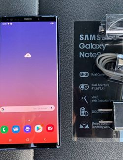 Samsung Note 9, Factory Unlocked, Nothing wrong works perfectly, Excellent condition like new. for Sale in Franconia,  VA