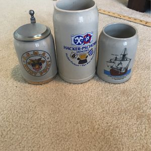 Vintage German Stein Glasses for Sale in Occoquan Historic District, VA