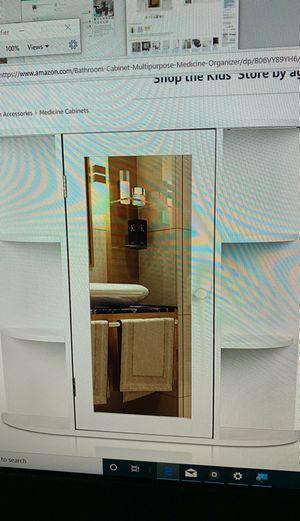HOMFA bathroom wall cabinet multipurpose kitchen medicine storage organizer for Sale in Ontario, CA