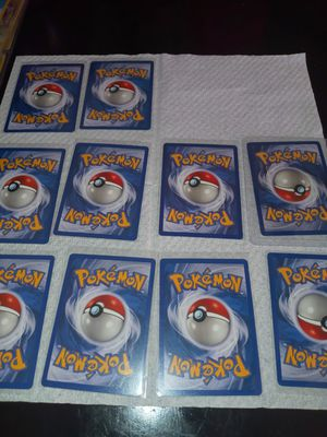 Pokemon cards base set 1999 rares for Sale in Lynwood, CA