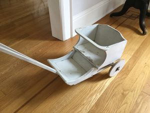 Vintage Doll Carriage Stroller or plant holder Antique for Sale in Burien, WA