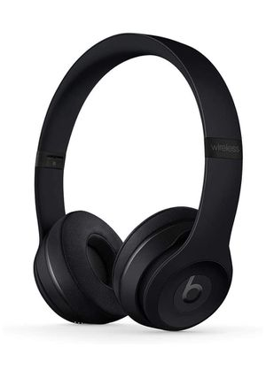 New Beats Solo3 Wireless On-Ear Headphones - Apple W1 Headphone Chip, Class 1 Bluetooth, 40 Hours Of Listening Time - Black (Latest Model) for Sale in Marblehead, MA
