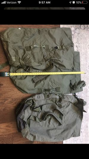 3 genuine Army Duffle bags - Price for ALL for Sale in Atascocita, TX