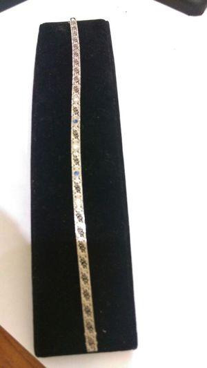 14k white gold bracelets diamond for Sale in Philadelphia, PA