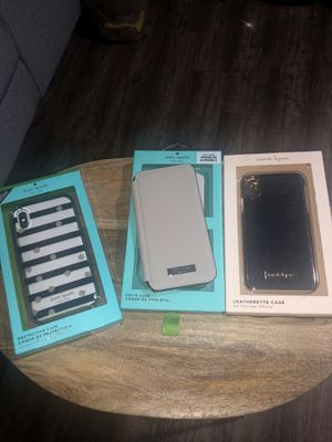 3 iPhone XS or X cases for Sale in Greenville, SC