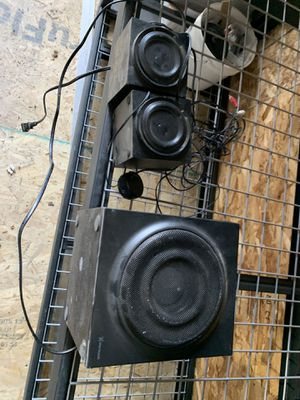 Speakers great sound for Sale in Lynnwood, WA