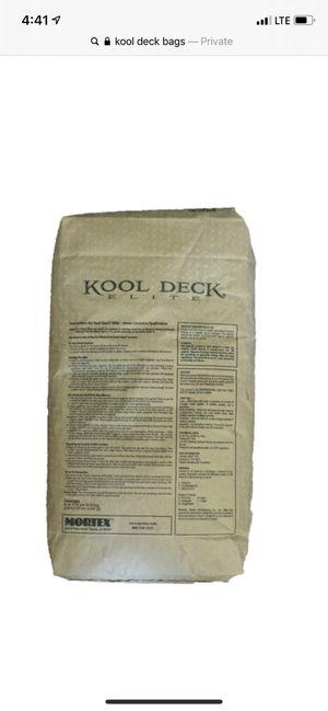 Free kool deck (3 bags) for Sale in Arlington, TX