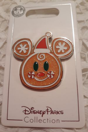 Disney Pin Gingerbread Mickey for Sale in Celebration, FL