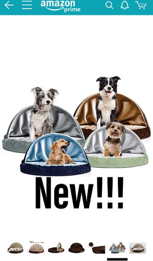 Furhaven Pet Dog Bed | Round Snuggery Burrow Pet Bed for Dogs & Cats for Sale in Las Vegas, NV