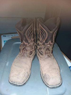 Cody james pull on work boots for Sale in Fresno, CA