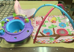 Baby bath & seat bundle for Sale in Buffalo, NY