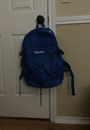 Blue supreme backpack for Sale in Garland, TX