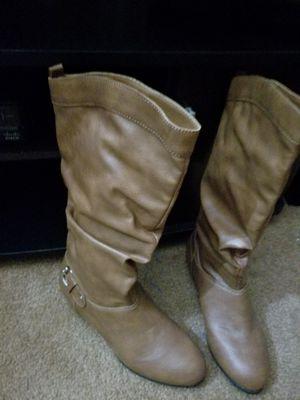 Tan boots for Sale in Wimauma, FL