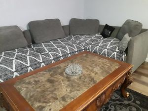 5 piece sectional and coffee table for Sale in St. Louis, MO