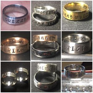 Personalized Stainless Steel Rings for Sale in Tolleson, AZ