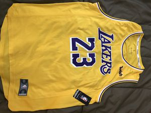 Lebron James jersey lakers for Sale in Detroit, MI