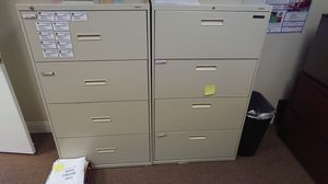 Office filing cabinets (lower price) for Sale in Virginia Beach, VA