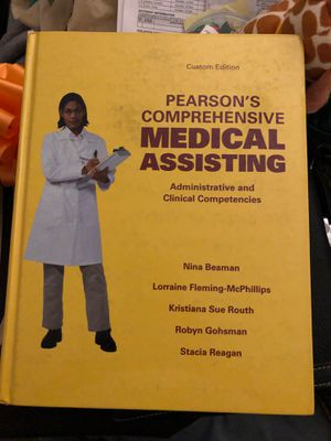 Medical assistant book for Sale in Victorville, CA